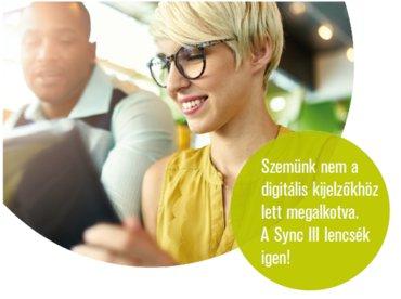 SyncIII digitális szemüveglencse