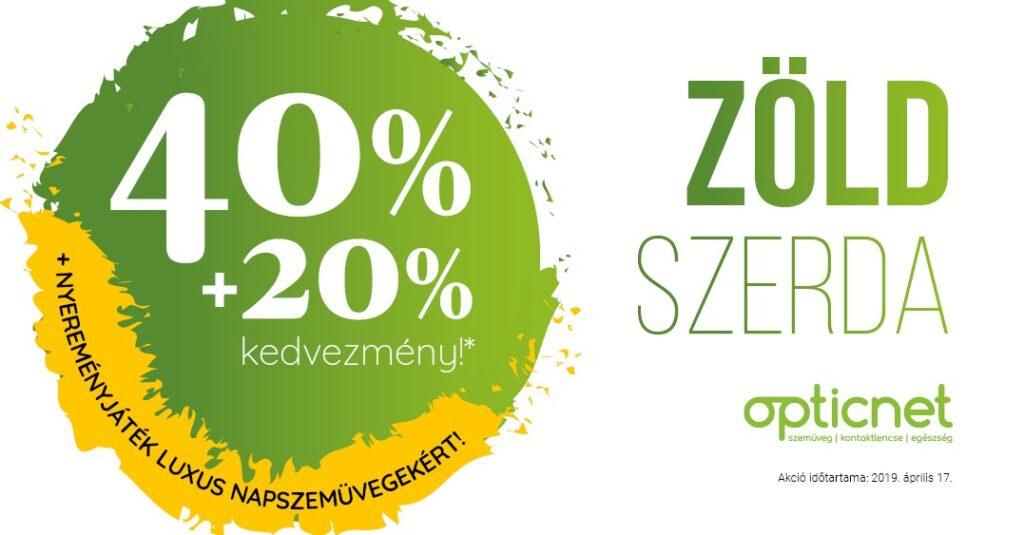 Zöld szerda Pupilla Optika Debrecen