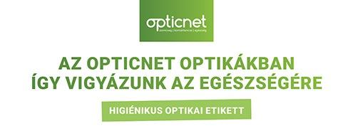 Higiénikus optikai etikett