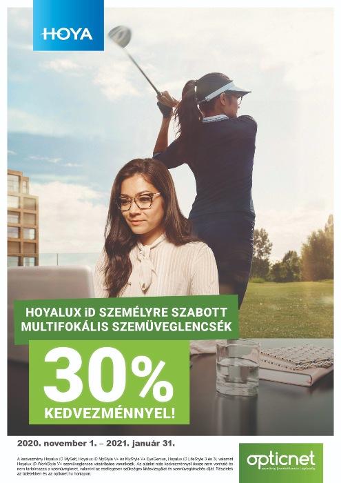 multifokális szemüveglencsék 30% kedvezménnyel